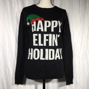 Rue21 Happy Elfin Holiday Ugly Christmas Sweater🦖